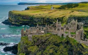 Dunluce Castle en Irlanda del Norte