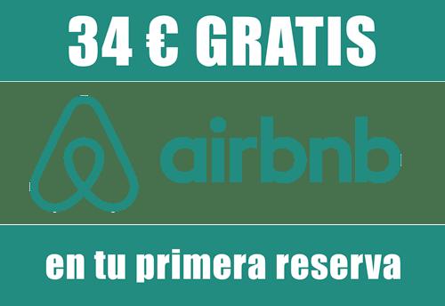 Logotipo de Aribnb para obtener descuentos
