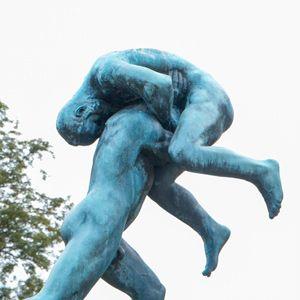 estatuas parque vigeland en Oslo
