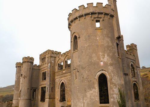 Clifden Castle en ruinas