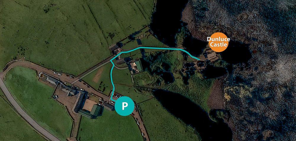Ruta Dunluce Castle viaje Irlanda del Norte