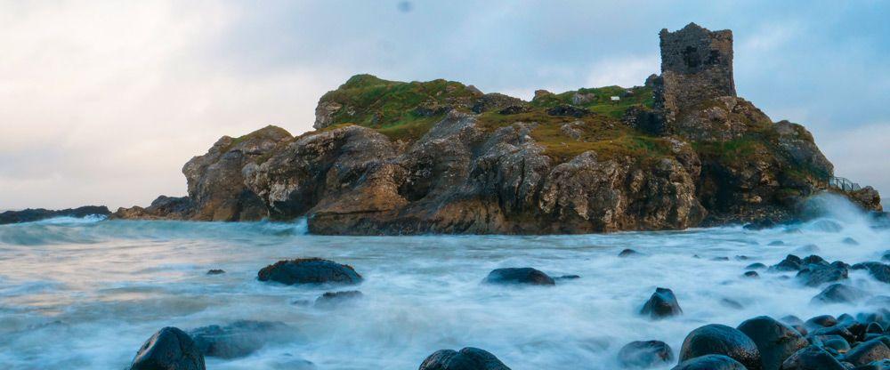 Kinbane Castle, un dels millors llocs de la costa d'Irlanda del Nord