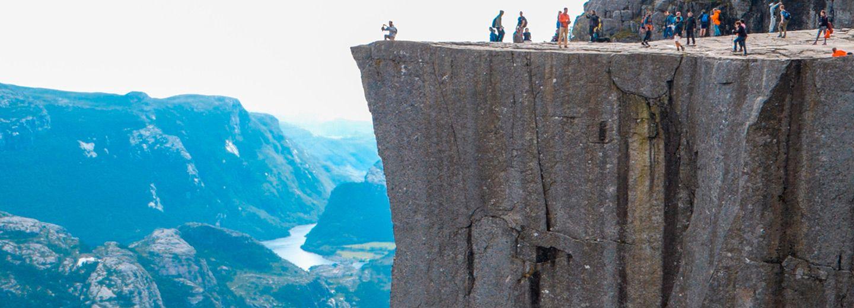 Preikestolen, el púlpito de Noruega