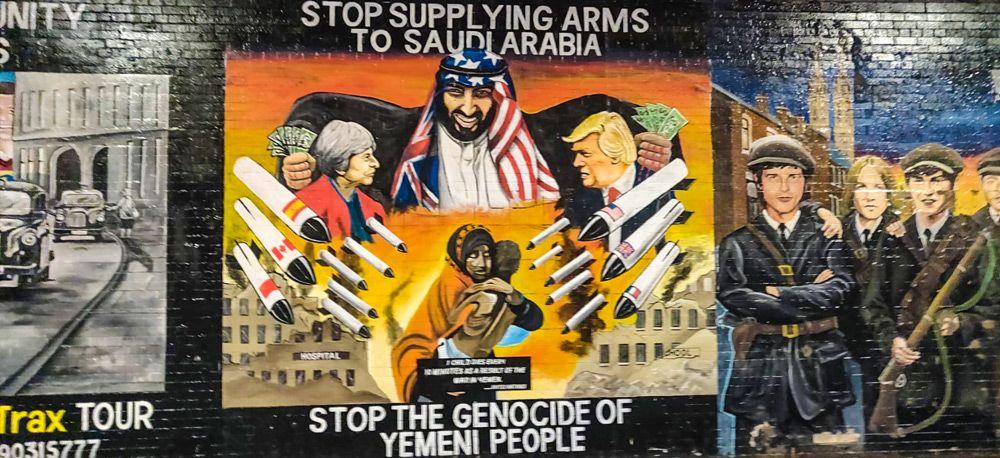 Visitar Belfast en un día te permitirá ver sus famosos murales reivindicativos