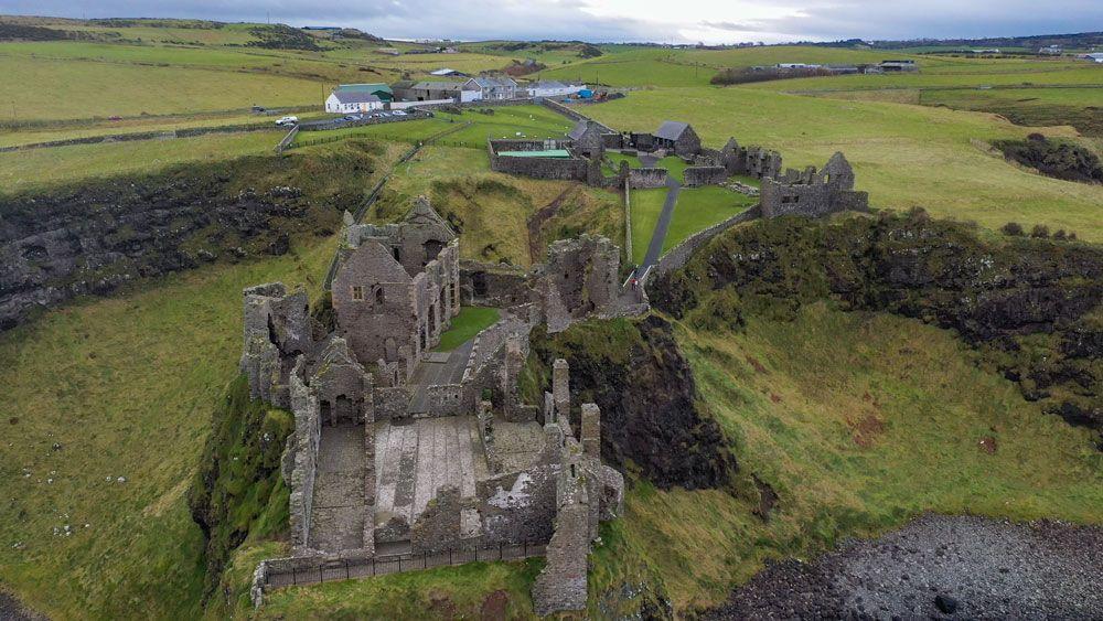 Duncluce Castle, una visita obligada per veure Irlanda en 6 dies