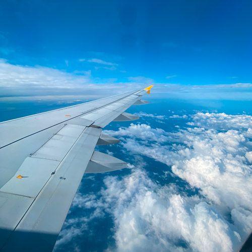 vuelo en avión de barcelona a menorca