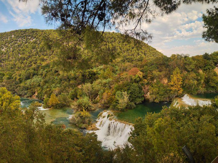 Cataratas del parque Nacional Krka en Croacia