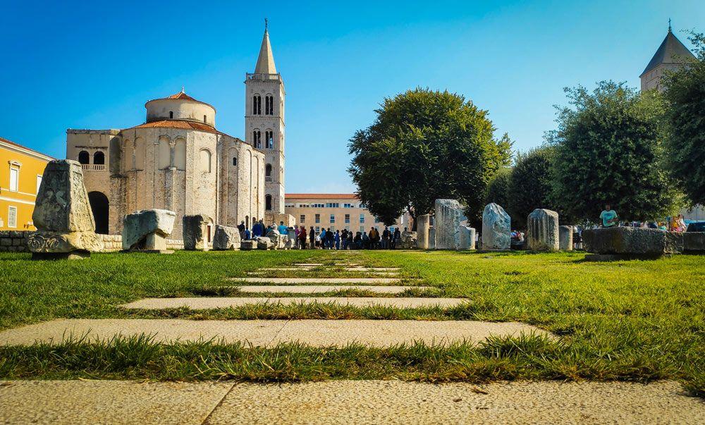 Catedral de Santa Anastasia de la ciudad de Zadar