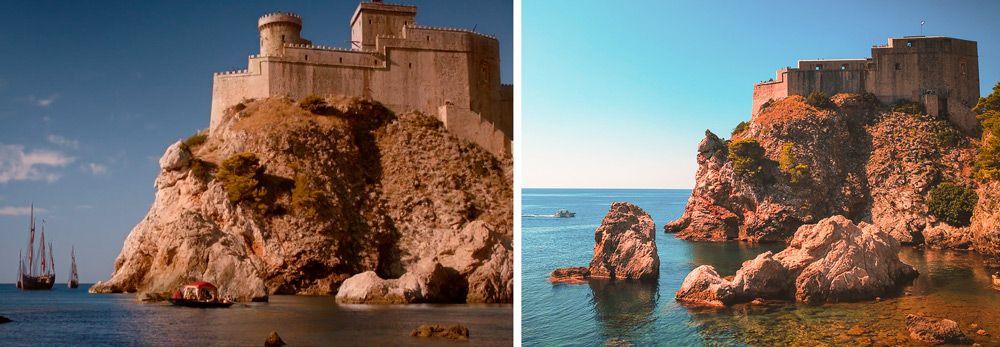 Bahía de Lovrijenac en Dubrovnik donde grabaron Juego de Tronos