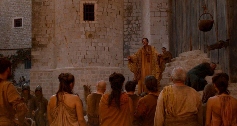 Monasterio Dominicano donde grabaron Juego de Tronos en Dubrovnik