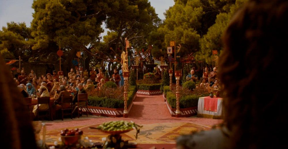 Parque Gradac donde rodaron Juego de Tronos en Dubrovnik