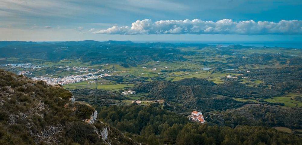 Vista de Menorca desde Monte Toro