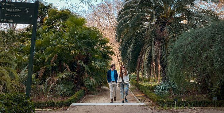 cuanto cuesta la entrada al jardin botanico de madrid? Pues 6 euros