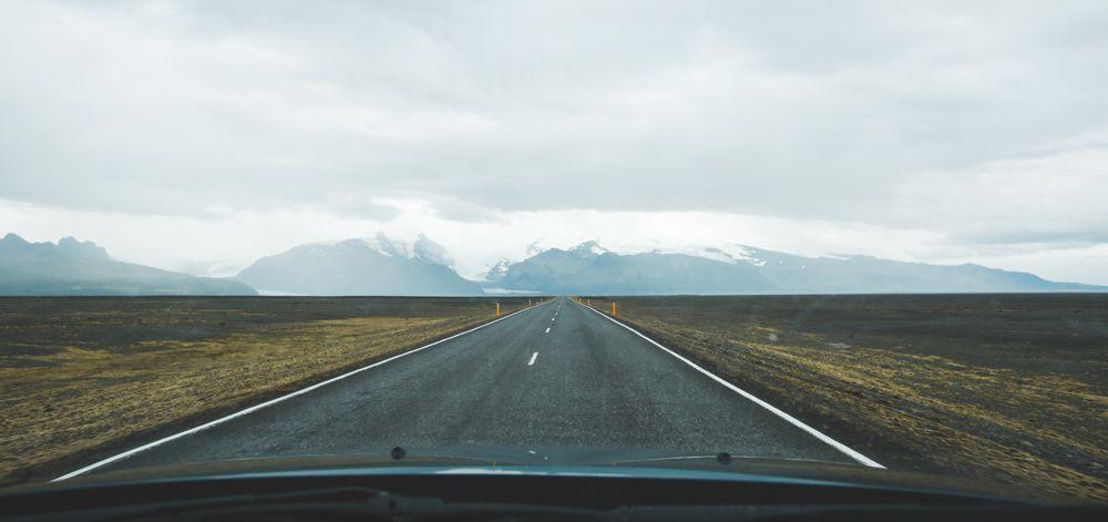 Conducir en Islandia por la ring road
