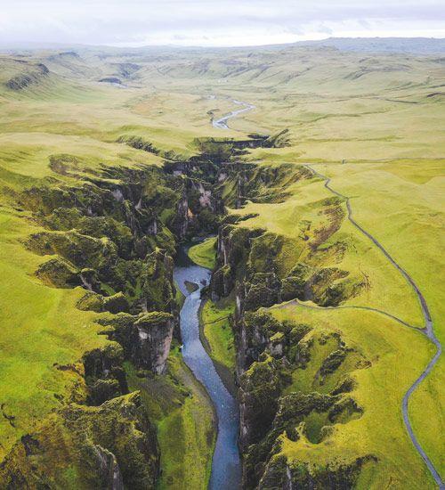 el canyon fjadragljufur
