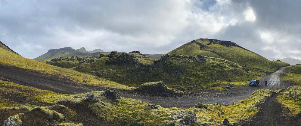 Conducir por las carreteras F de Islandia
