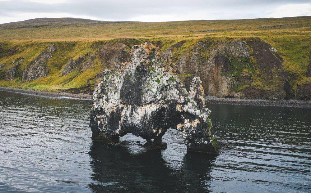 como llegar a hviterskur, la piedra rinoceronte de islandia