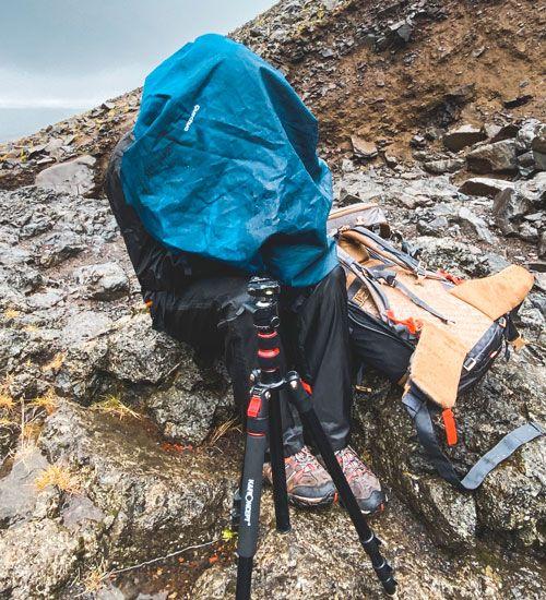 fotografiar con la lluvia de islandia no es nada fácil