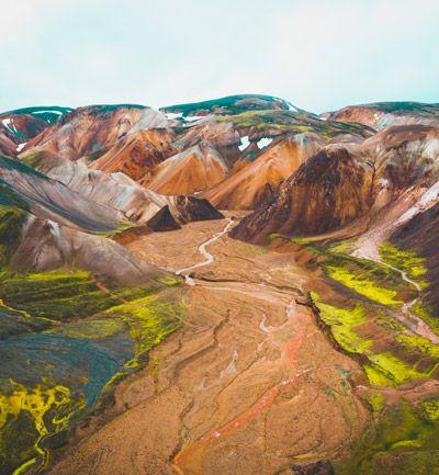 excursion a landmannalaugar en nuestro viaje a islandia