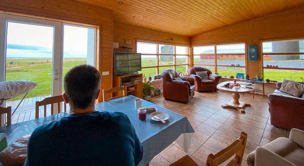 Uno de nuestros mejores sitios donde dormir barato en Islandia, sin duda