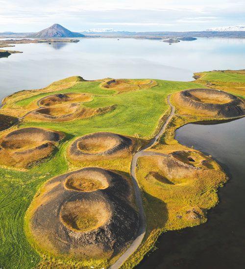 donde están los lagos myvatn de islandia