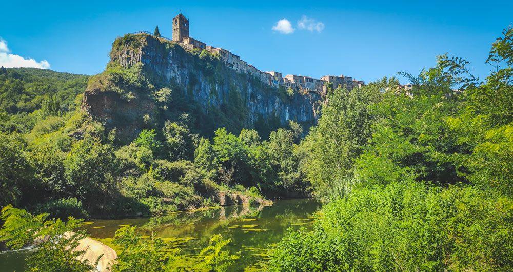 Visita a Castellfollit de la Roca